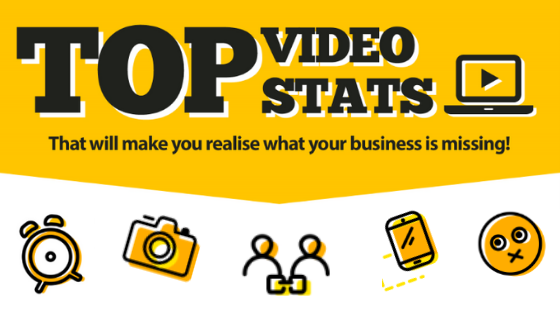 TOP VIDEO STATS THAT WILL MAKE YOU REALISE WHAT YOUR BUSINESS IS MISSING