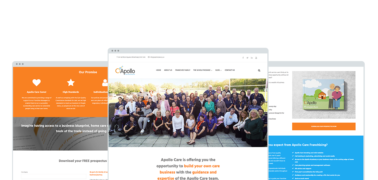 Apollo Care Franchising Mock up