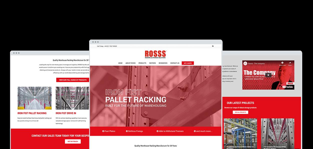 ROSSS UK Website Design and Development